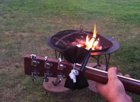 Day 190 - Fireside Songwriting